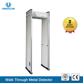 China Loop Through Door Frame Metaaldetector Gate 6 Zones Ub500 Secuity Equipment verdeler